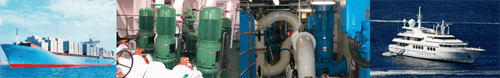 Submerged lubrication oil pump application