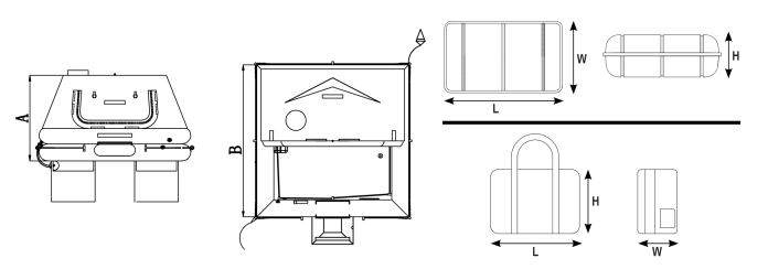Drawing and dimensions