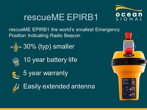 RESCUEME EPIRB1 SPECIFICATION