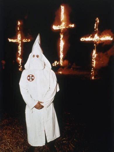 KKK in mask