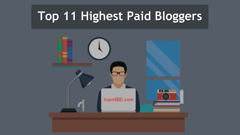 Highest Paid Bloggers