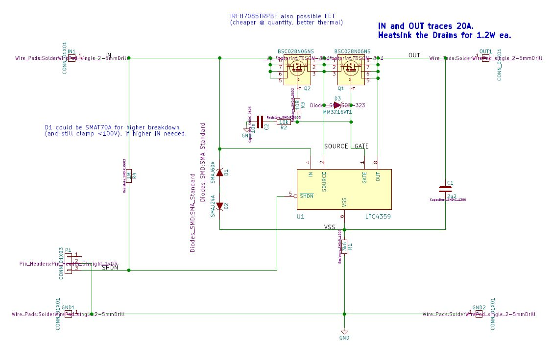 hight resolution of this performs the same function as a diode only lets current through in one direction but without the losses associated with a regular diode