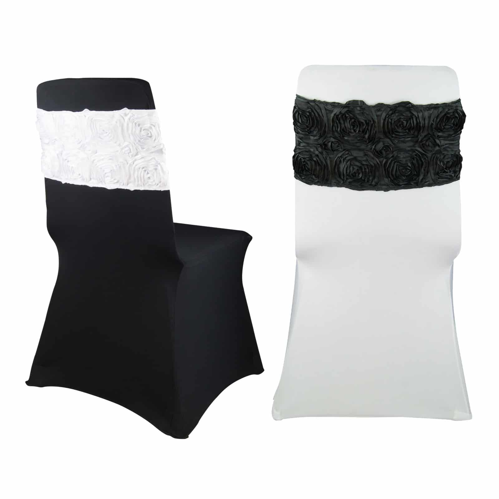 wedding chair cover hire adelaide folding reclining rosette bands - quality and universal