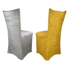 Wholesale Lycra Chair Covers Australia Lay Down Outside Spandex Sparkle Silver Or Gold