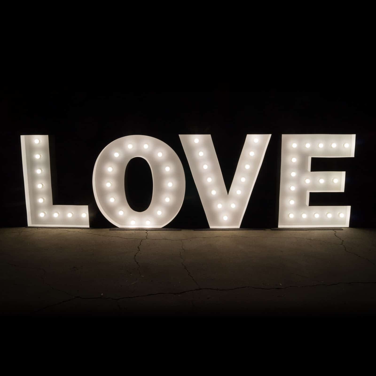 chair covers hire wholesale solid wood ladder back chairs light up letters - stunning 1.2m illuminated marquee love