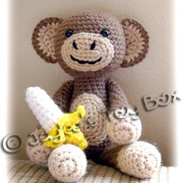 http://www.ravelry.com/patterns/library/amigurumi-monkey-with-banana