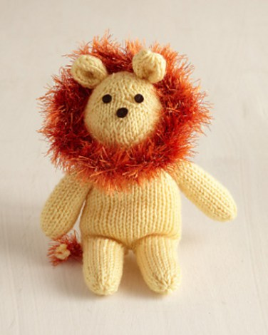 http://www.ravelry.com/patterns/library/knitted-lion