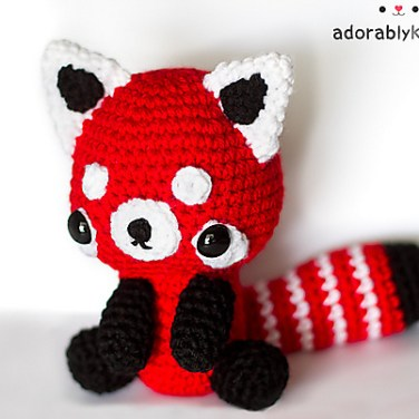 http://www.ravelry.com/patterns/library/red-panda-amigurumi