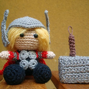 http://www.ravelry.com/patterns/library/thor-amigurumi