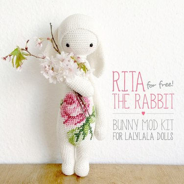 http://www.ravelry.com/patterns/library/rita-the-rabbit---easter-bunny-mod-kit-for-lalylala-dolls