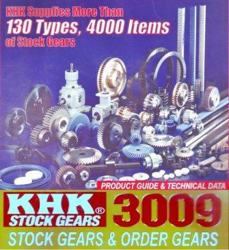 KHK Rack Gear Application