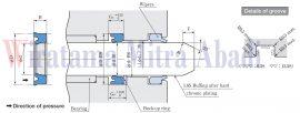 NMY Sakagami Seal for Hydraulic Cylinder Rod