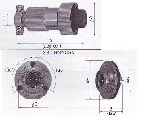 NWPC Connector Nanaboshi | Industrial Electrical Connector