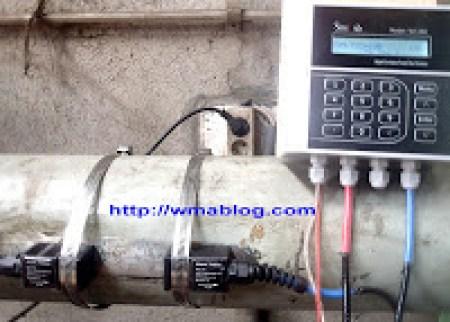 Sitelab SL1168 water Clamp On Ultrasonic Flow Meter