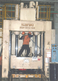 Over Haul Mesin Press Hydraulic