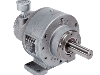 Gast 4AM-RV-75-GR20 Geared Air Motor