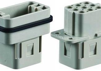 Sibas HN.D.7.BU.C. 250 V Insert Connector