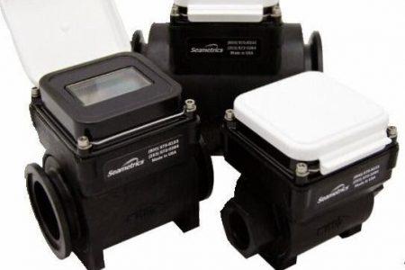 Plastic bodied Seametrics WMP Magnetic Flow Meter