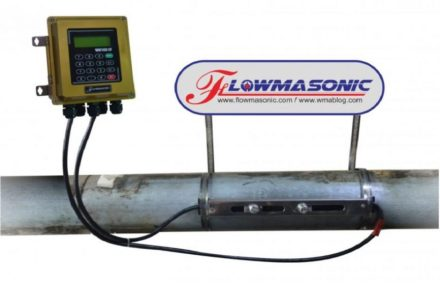 Ultrasonic flow meter clamp on wuf 100CF