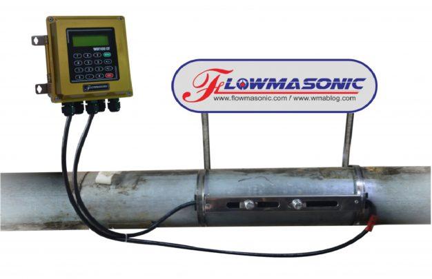 WUF 100 CF Flowmasonic Clamp On Water Flow Meter