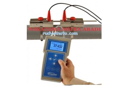 Greyline PTFM 1.0 Transit Time Portable ultrasonic Flow Meter