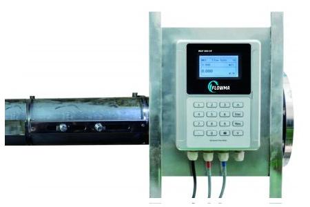Flow meter ultrasonic yang digunakan untuk sistem pemadam kebakaran