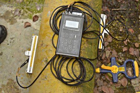 Portable Ultrasonic Flow Meter Sitelab SL1168