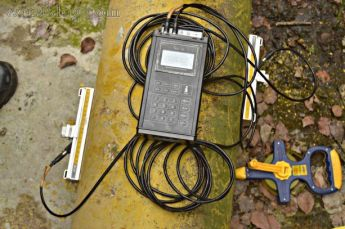 Sitelab portable ultrasonic flow meter
