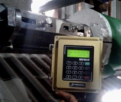 Jenis satuan flow rate pada alat ukur debit air