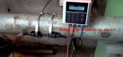 sitelab ultrasonic flow meter