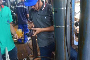 Pemasangan Electromagnetiv Flow Meter