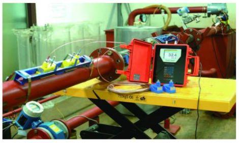 Flow meter portable ultrasonic Xonic 100