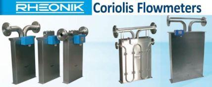 Rheonik Coriolis mass flow meter