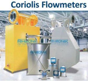 Coriolis mas flow meter