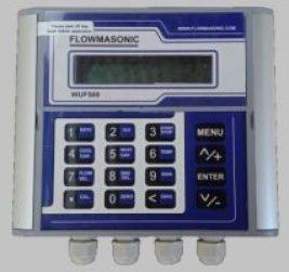 Clamp on ultrasonic flow meter