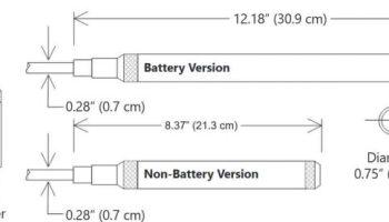Dimension Seametrics PT2XPressure and temperature sensor