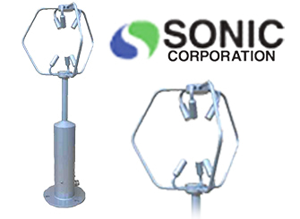 Sonic SAT-900 Ultrasonic 3-D Strong Wind Anemometer