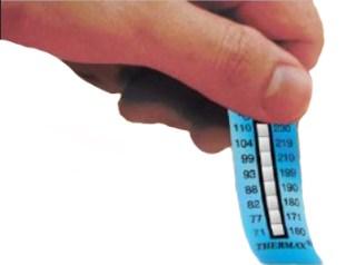 Thermax Temperature Label Application