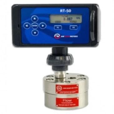 Battery-Powered Flow Rate Transmitter RT-50 Series AW Lake