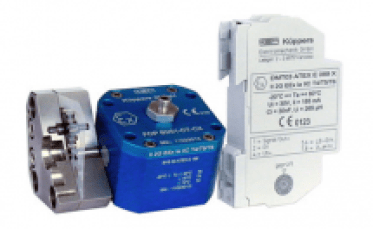 FOP and OPTV Kem Kuppler Fibreoptical Amplifier and Lightpulse Receiver
