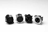 AC SERIES XLR PCB CHASSIS MOUNT CONNECTORS