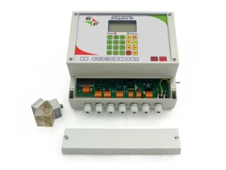 DOPPLER FLOW METER with clamp-on sensors Energoflow