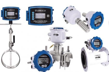 Litre Meter Electromagnetic Flowmeter Range and Ultrasonic Flowmeter