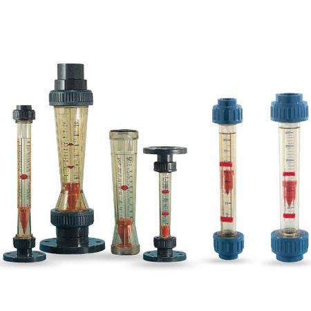 Model: KSK/KSM/VKN, Heinrichs-Variable area-flow meter plastic measuring tube