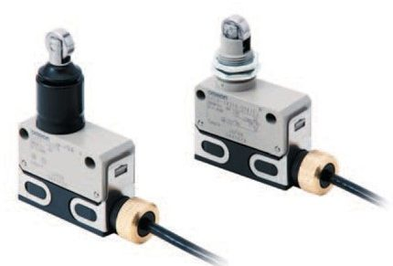 Omron D4ER-@N Limit Switches Oil Resistant