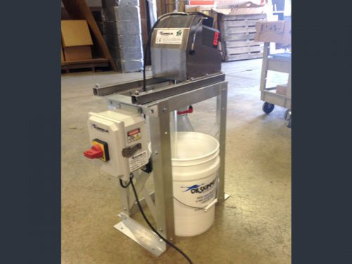 Frame Mounted Oil Removal Systems, Oil Skimmer-Oil Removal