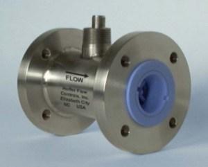 Hoffer Teflon Series Turbine Flow Meters for Corrosive Service