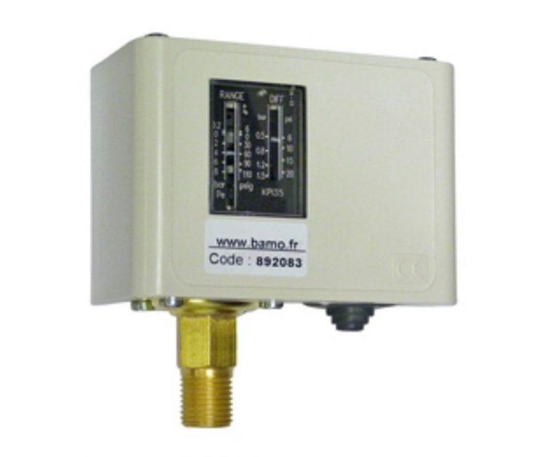 Bamo Pressure Switches KPI