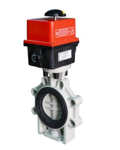 VEP K4-PPH Bamo Electrically Actuated Butterfly Valves