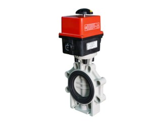 Electrically Actuated Butterfly Valves VEP K4-PPH